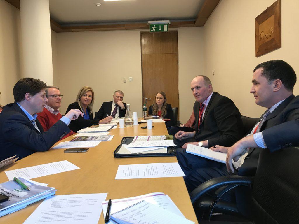 ICMSA Meet Sinn Fein 4 March 2020